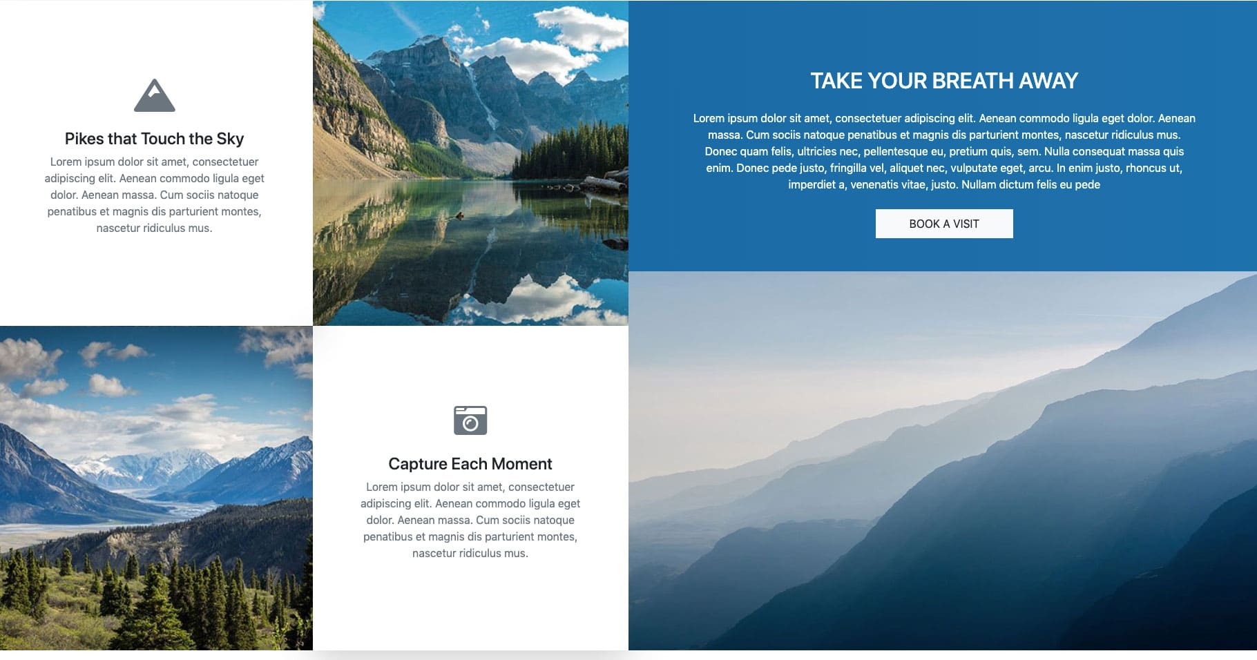 Bootstrap Grid Design Example